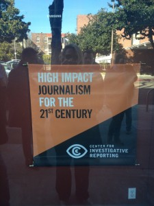 1.crusa13: Vor dem Center of investigative Journalism (CIR) in Berkeley