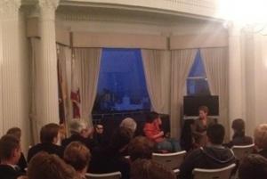 2.crusa14: Diskussion mit Kara Swisher (Re/code) im deutschen Generalkonsulat.