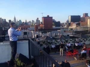3.crusa14: Auf dem Dach bei Gawker