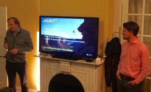 6.crusa16: Jaunt-CEO Jens Christensen mit Hanno Fichtner (r.), ProSiebenSat.1-Ventures