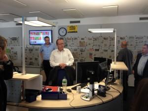 im Newsroom der RN