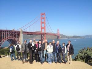 1.crusa13: Auftakt mit Golden Gate Bridge