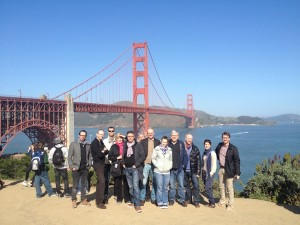 1.crusa13: Auftakt mit Golden Gate Bridge
