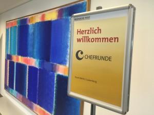 25.Chefrunde zu Gast bei der Rheinischen Post