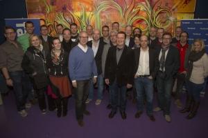 crusa13: Die Teilnehmer der 1. CHEFRUNDE study tour 2013 bei Facebook im Silicon Valley