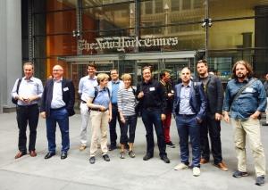 5.crusa15-NYC: Auf dem Sprung zur New York Times
