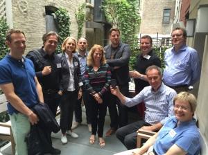 Teilnehmer der 5. crusa zu Gast bei Susan Danziger, CEO Ziggeo (5.v.l.)