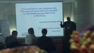 Eine der Präsentationen aus der Innovations-Chefrunde 2010 in Frankfurt.