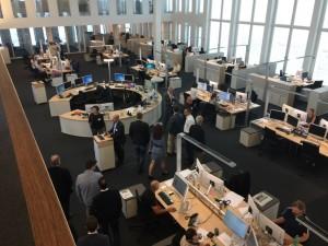 Der Newsroom der MZ