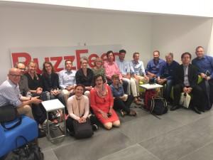 7.CRUSA16: Gruppenbild bei Buzzfeed
