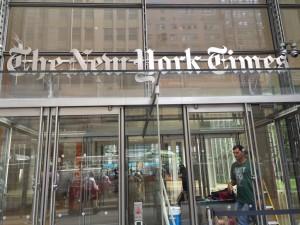 Standfest: New York Times