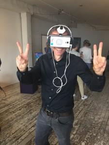 VR-Testen bei Framestore