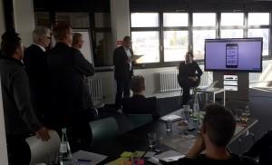 Design Thinking workshop mit Ergebnissen
